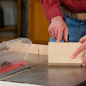 How to Crosscut Boards on a Table Saw