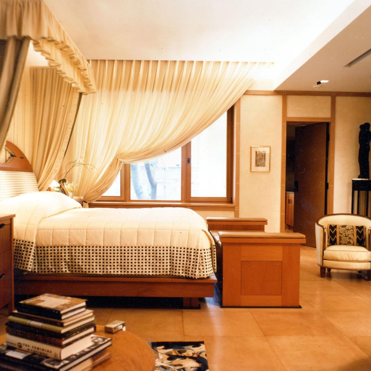 leather-tile-bedroom