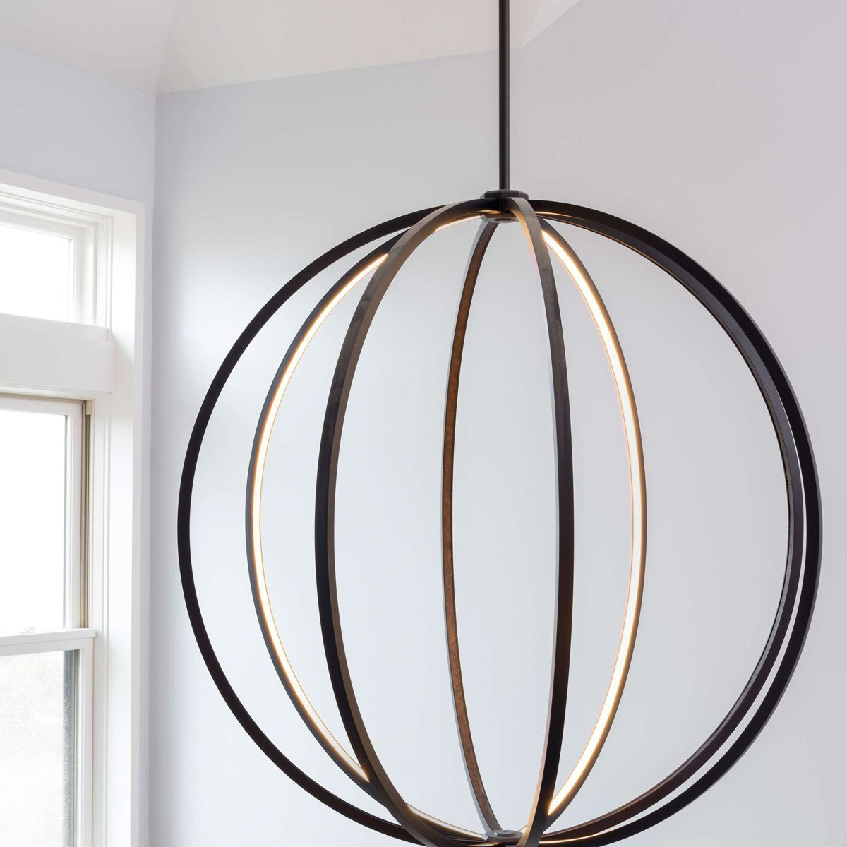 led-pendant sphere light