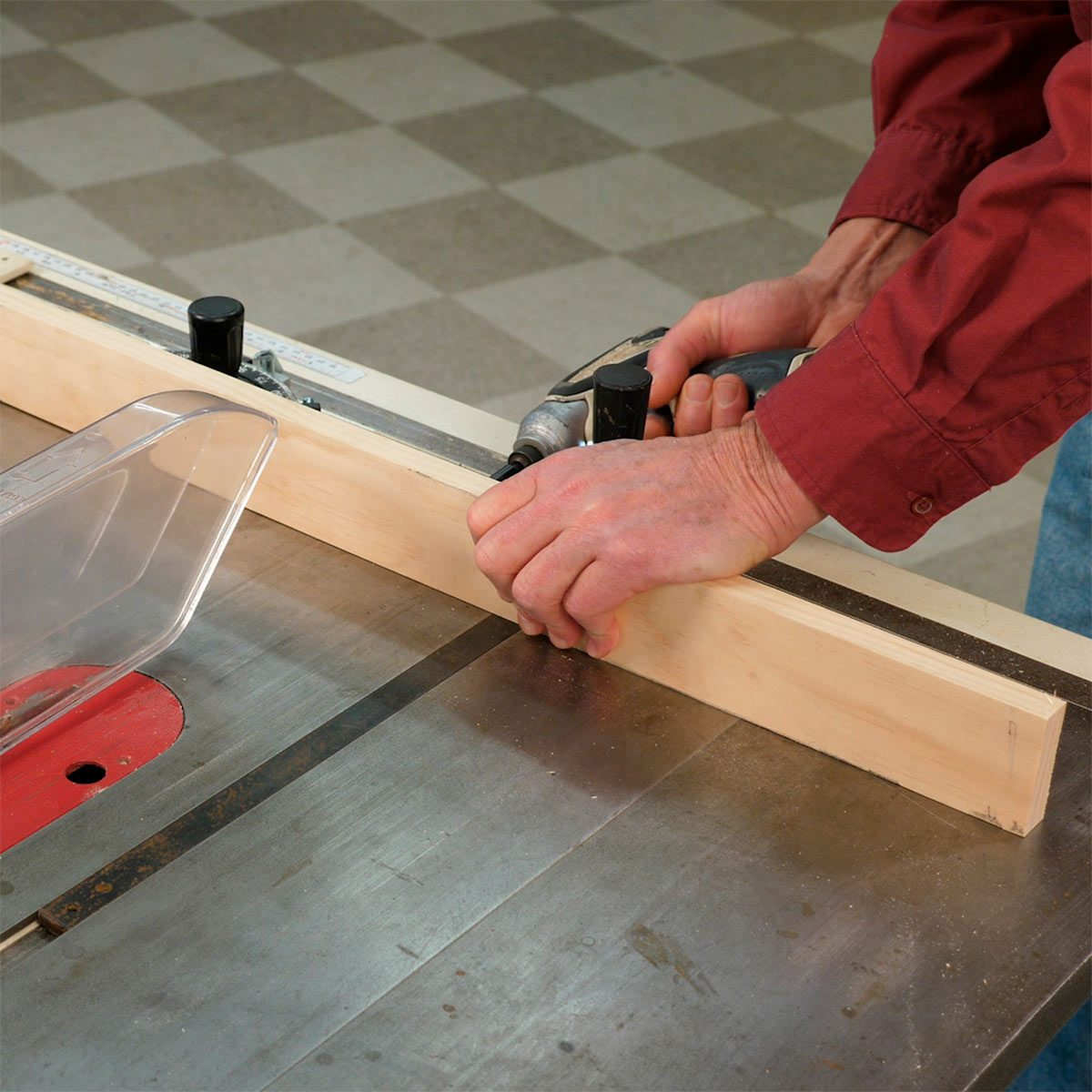 Miter Saw Gauges For Table Fence