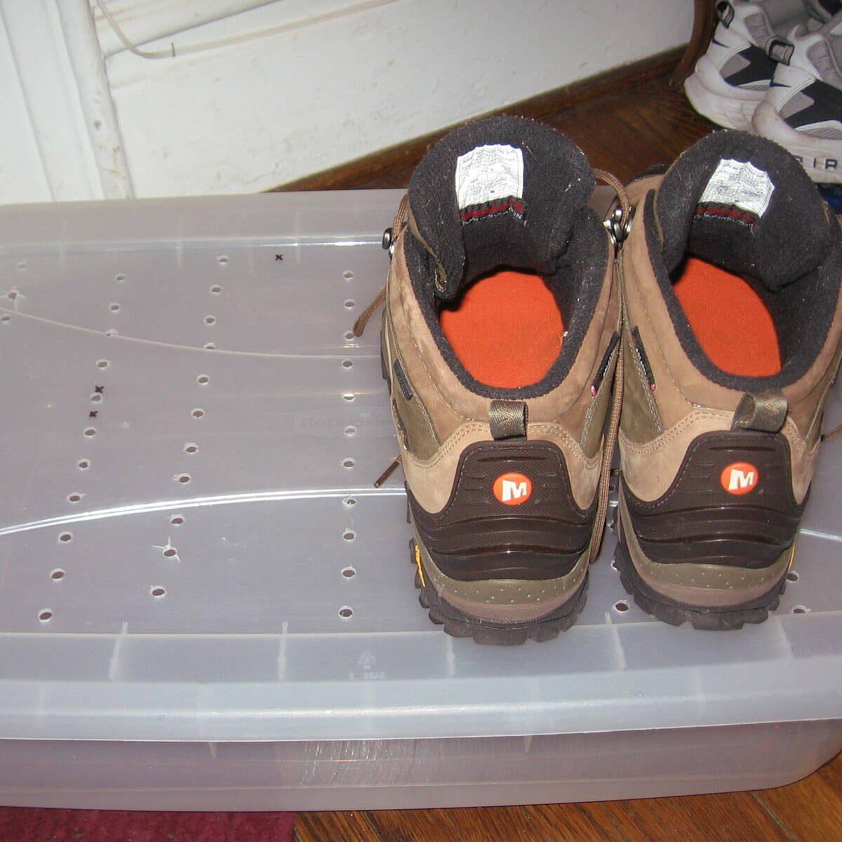 plastic bin boot tray