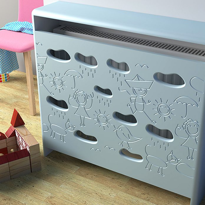 kid friendly radiator cover