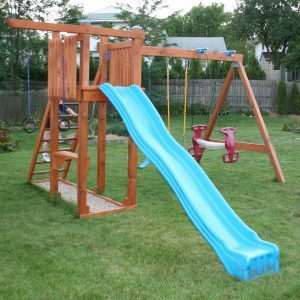 Reader Project: Summer Fun With Rebuilt Swing Set