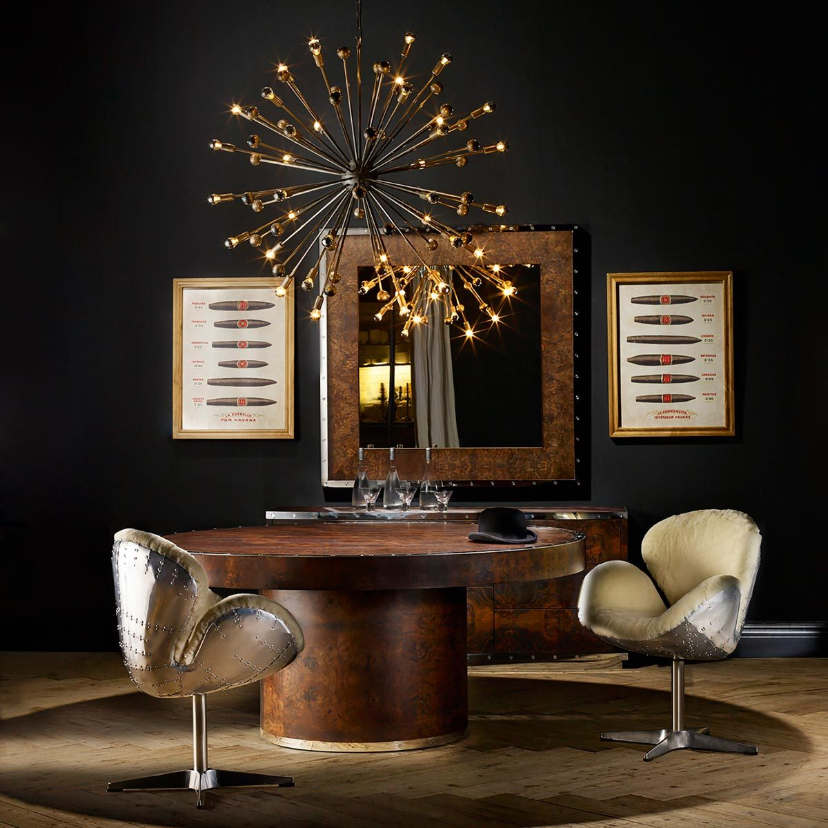 Lighting fixtures light burst chandelier