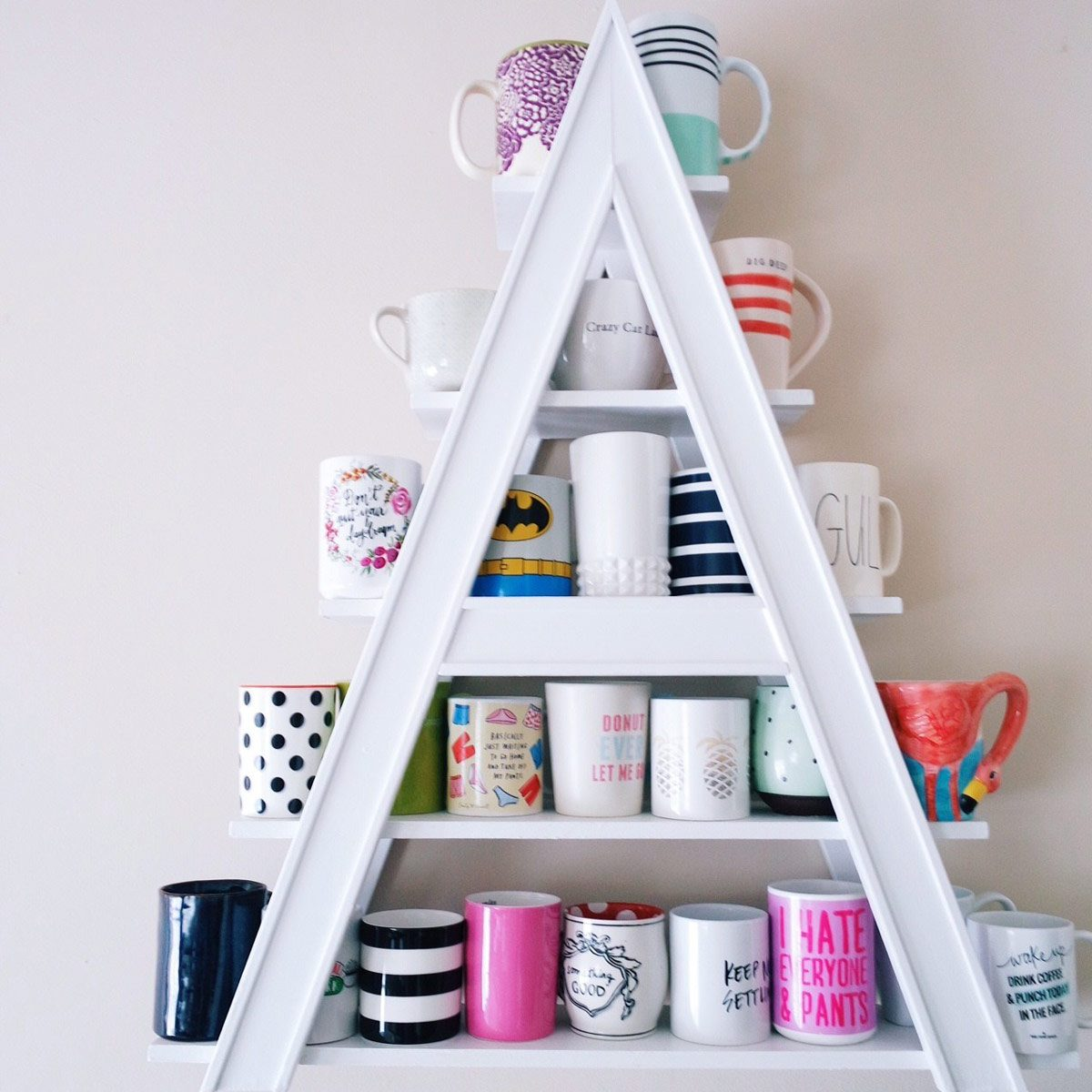 Ikea Kitchen Ideas And Inspiration 12 Handy Diy Mug Tree And Display Ideas The Family Handyman