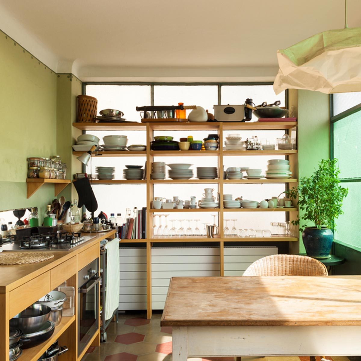 Kitchen Updates: Open Kitchen Shelves