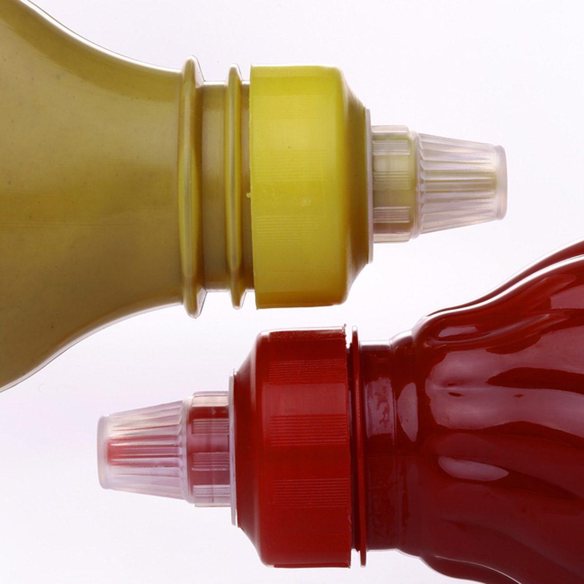 ketchup mustard condiments