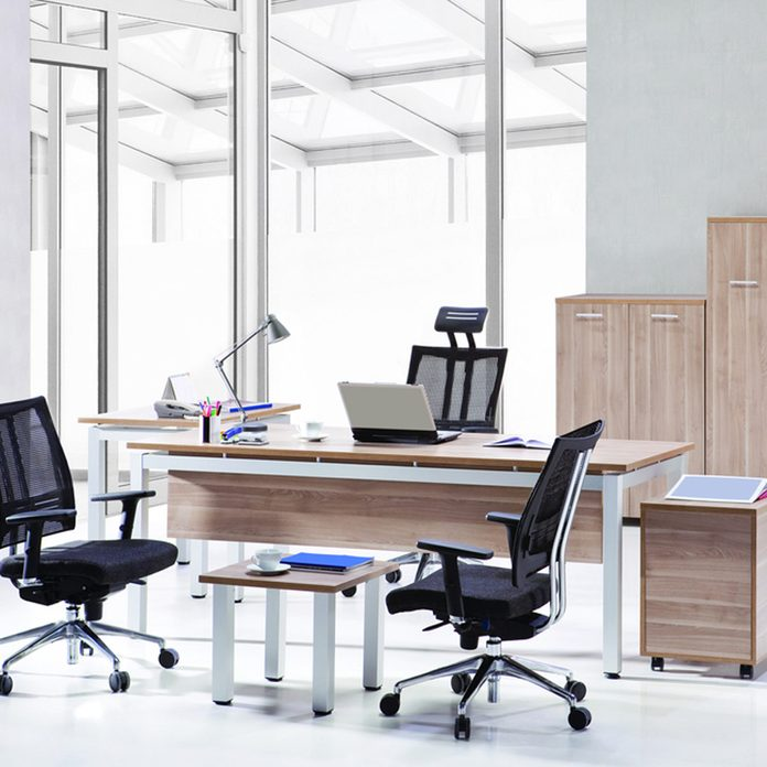office space everything on wheels