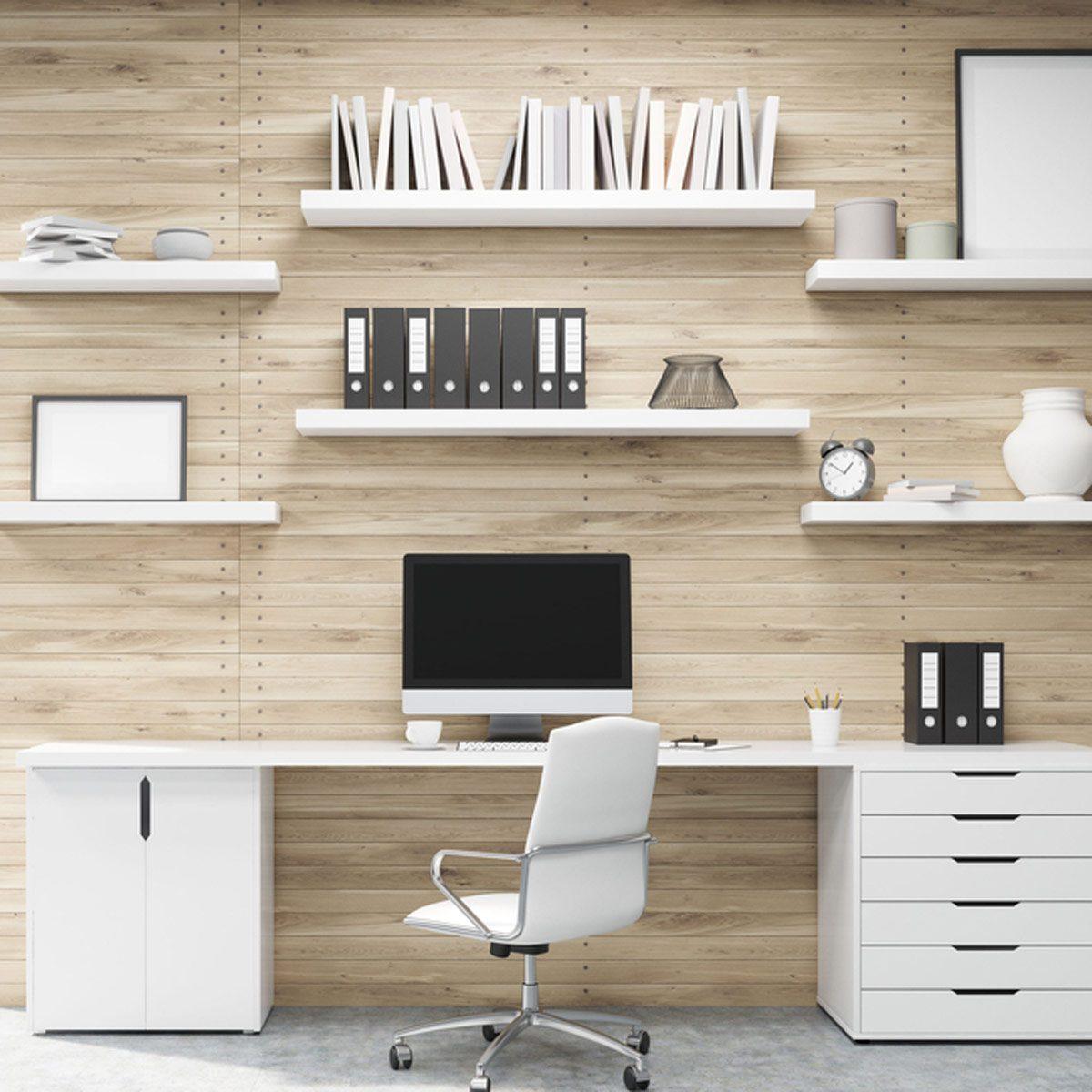 10 Easy DIYs For A Home Office