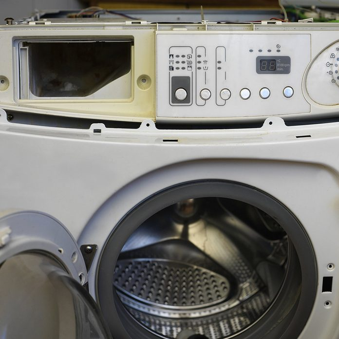 broken washing machine repair