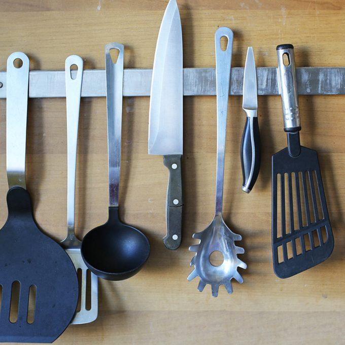 magnetic strips for kitchen utensils knives