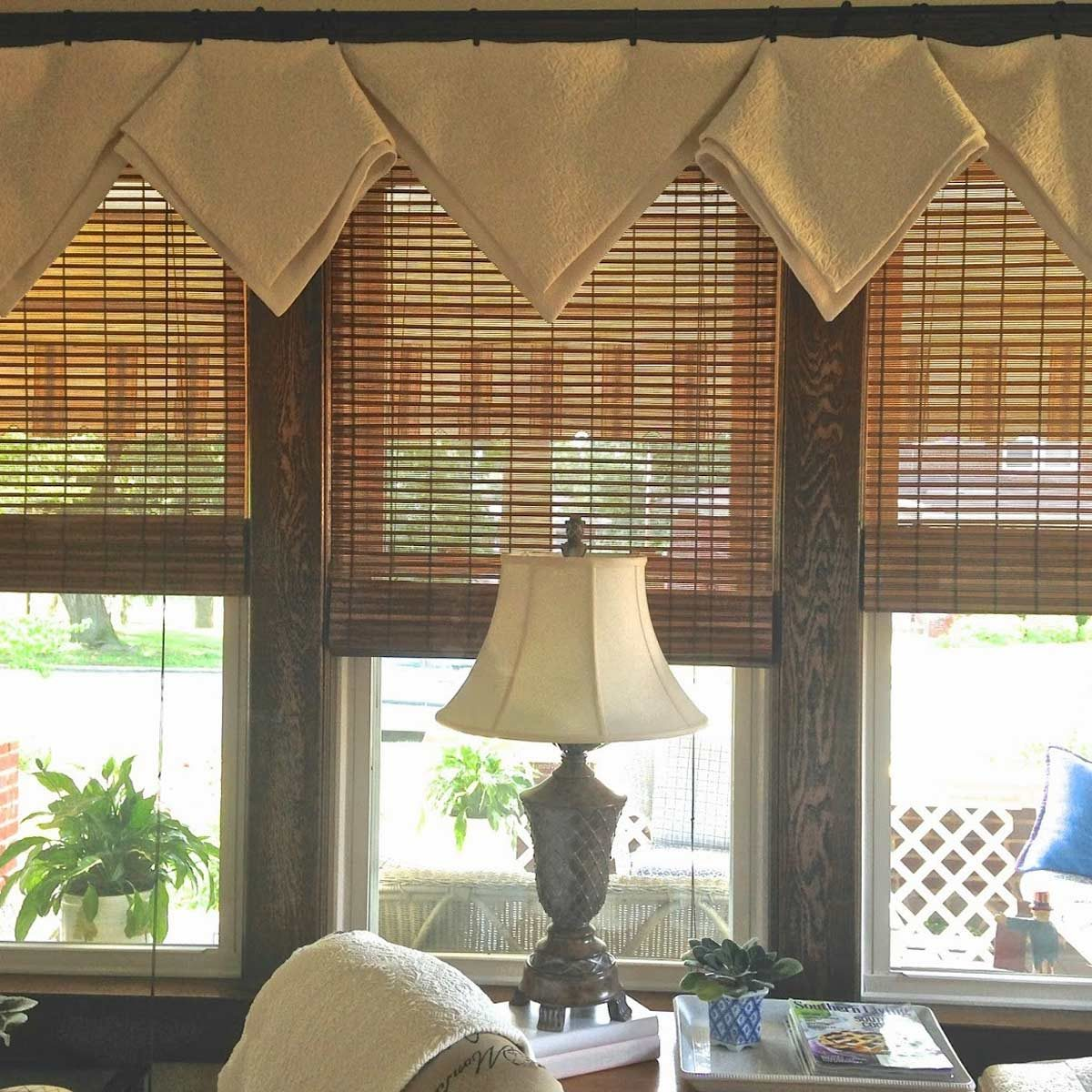 slipcover window treatment