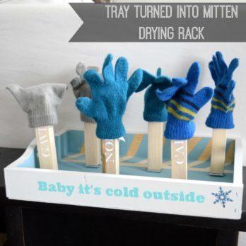 12 Fun DIY Mitten Drying Racks