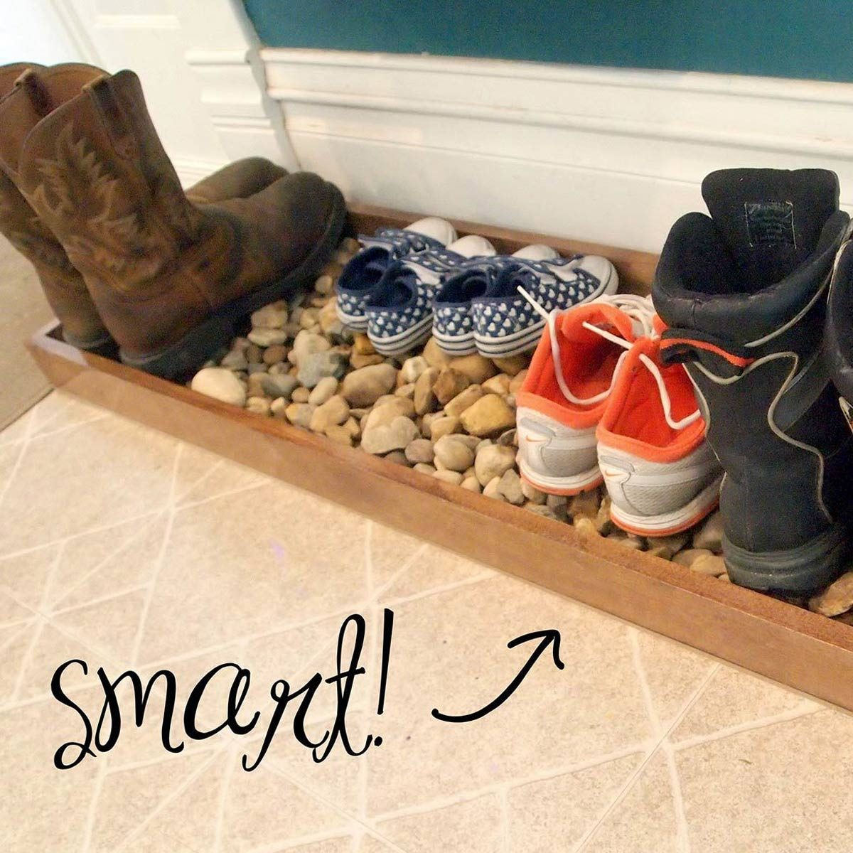 12 Diy Entryway Boot Tray Ideas Family Handyman