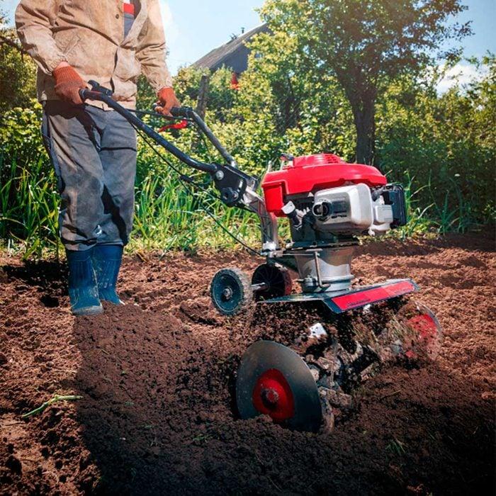 how to prepare soil for garden till