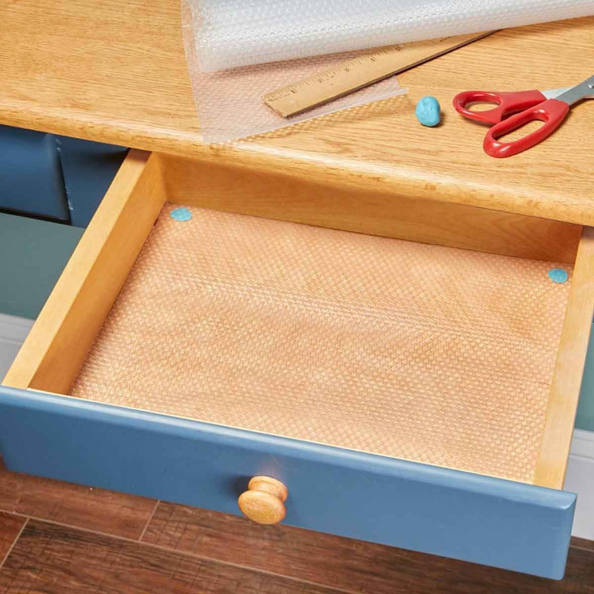 Line Drawers And Cabinets With Shelf Liners