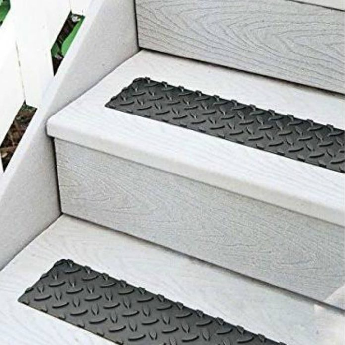 Self-Adhesive Non-Slip Stair Treads Skymall