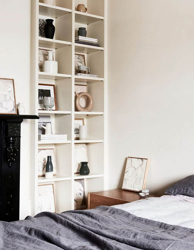 bedroom bookcase