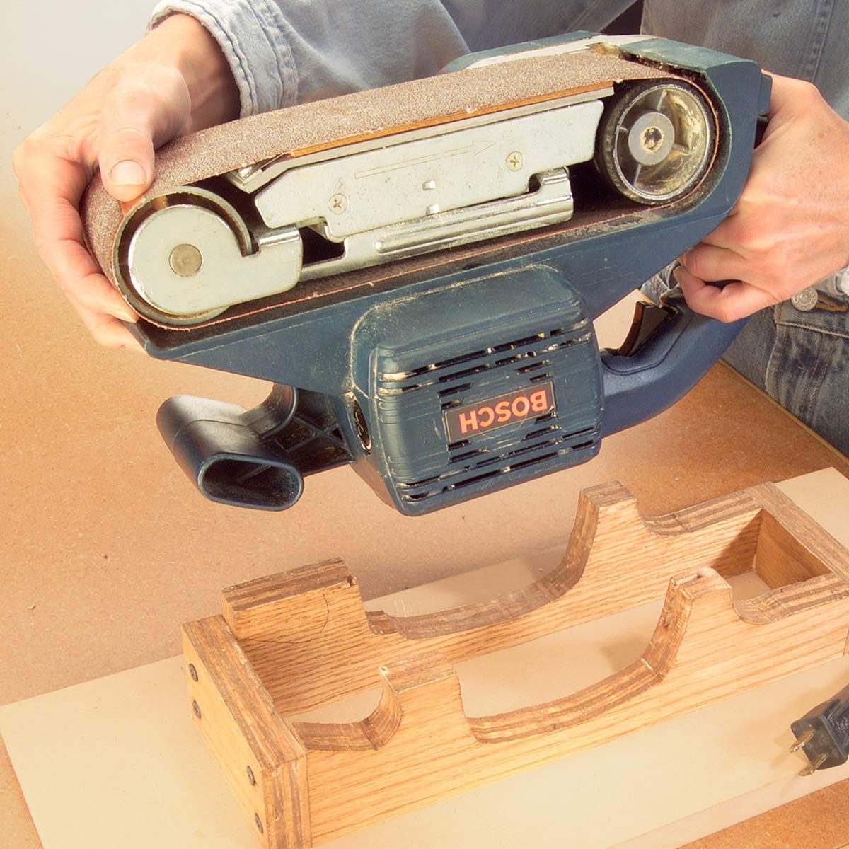 Stationary Belt Sander Workshop Tip From The Family Handyman