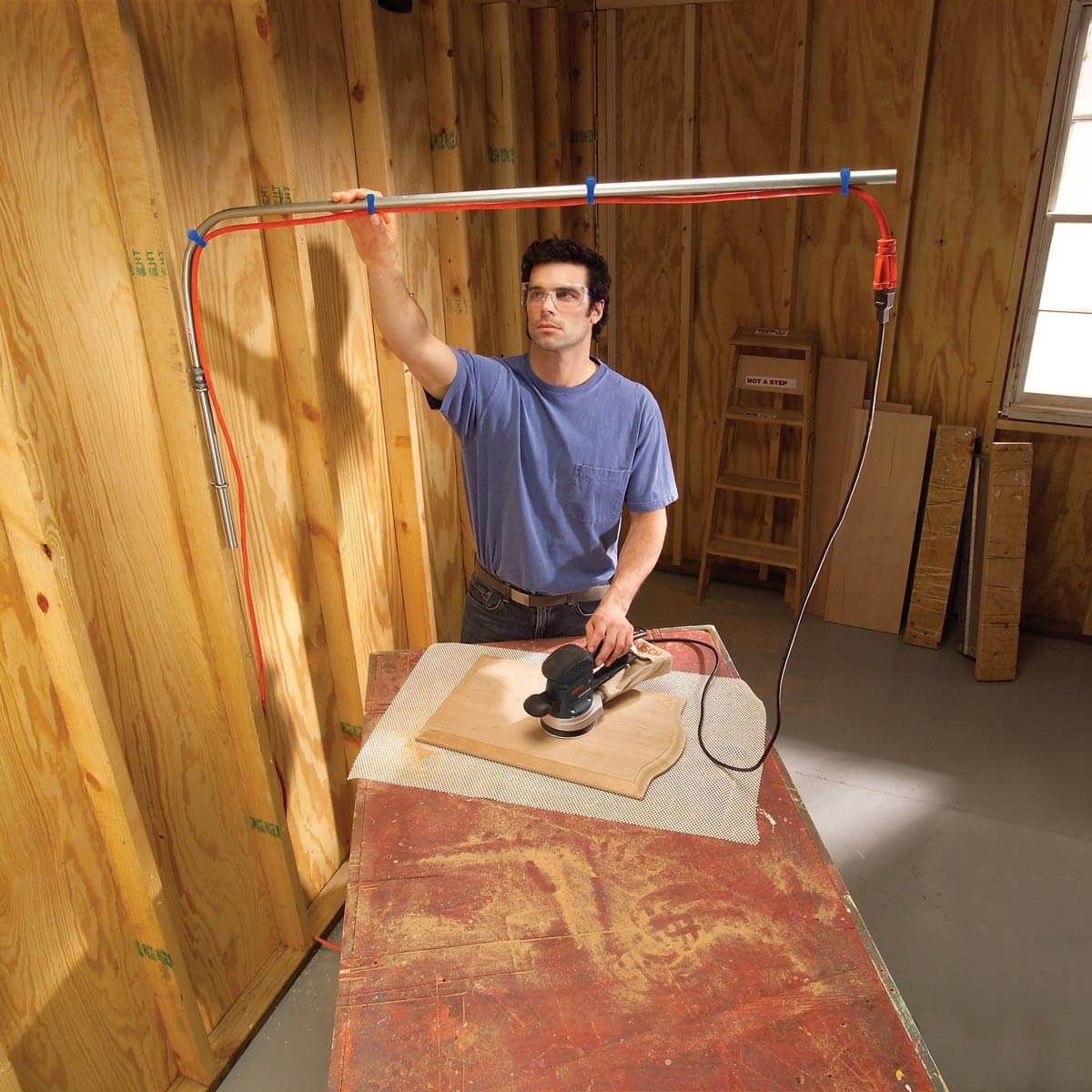Overhead Extension Cord  U2014 The Family Handyman