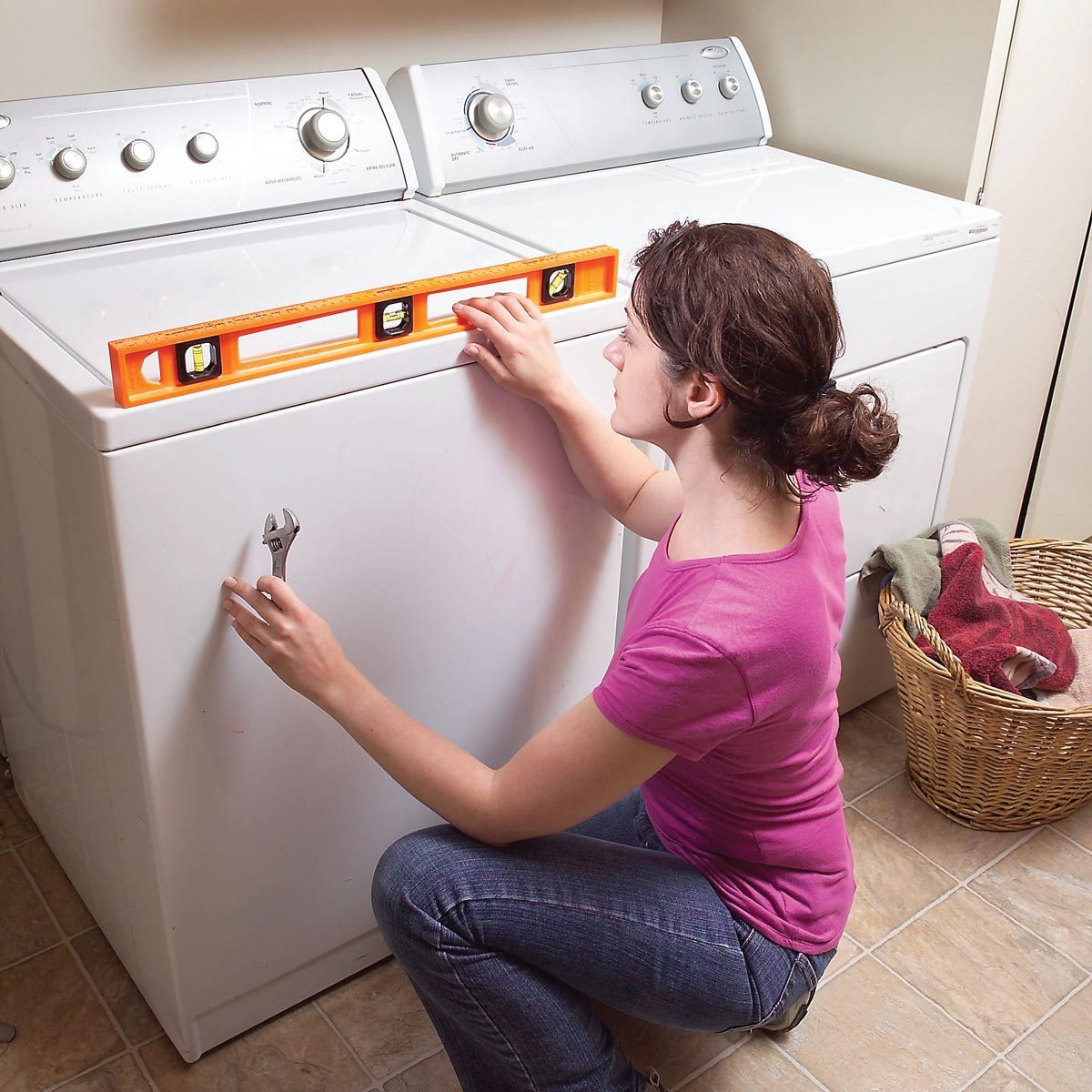 quiet a noisy washing machine