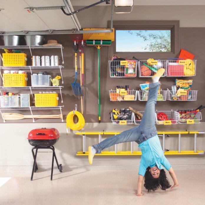 Brilliant Ways to Organize Your Garage
