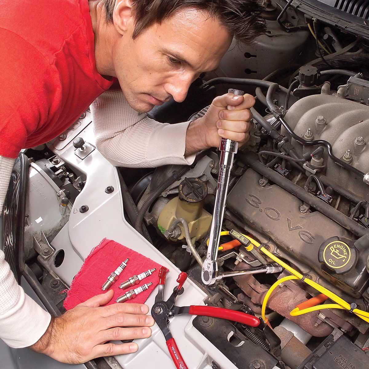 replace spark plugs