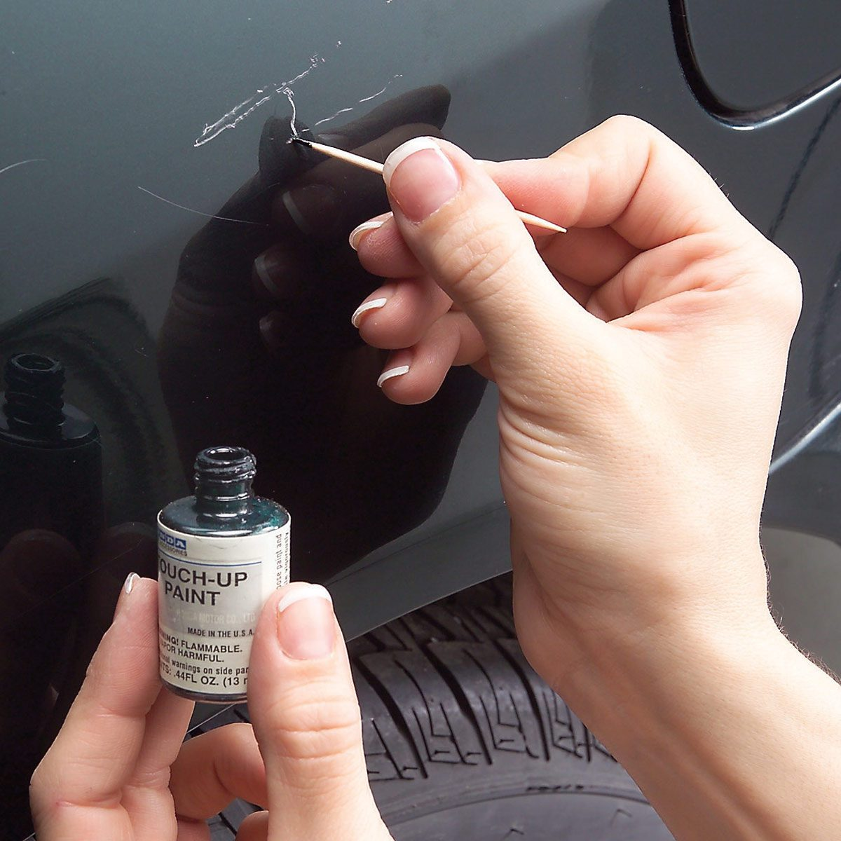 touch up car scratches