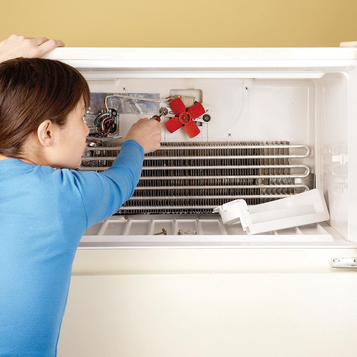 refrigerator repair freezer old appliances