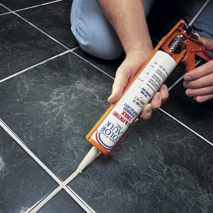 Fix Cracked Grout