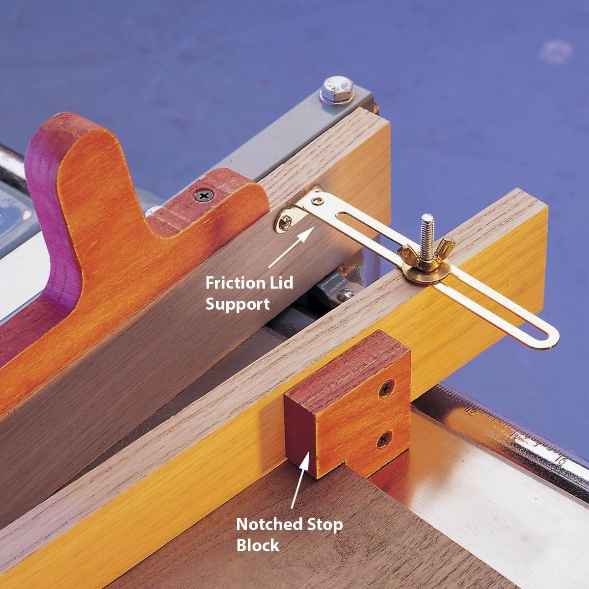 tapering jig — workshop tip from the family handyman