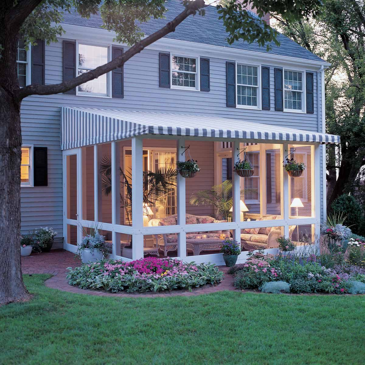 Screened Porch And Garage Oasis: 14 Ways To Add Space To Your Home That Won't Break The