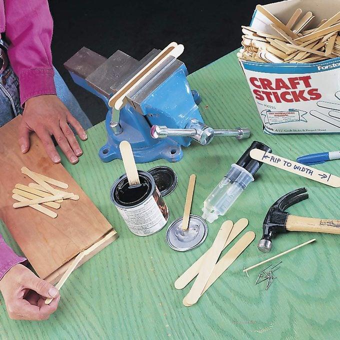 workshop sticks