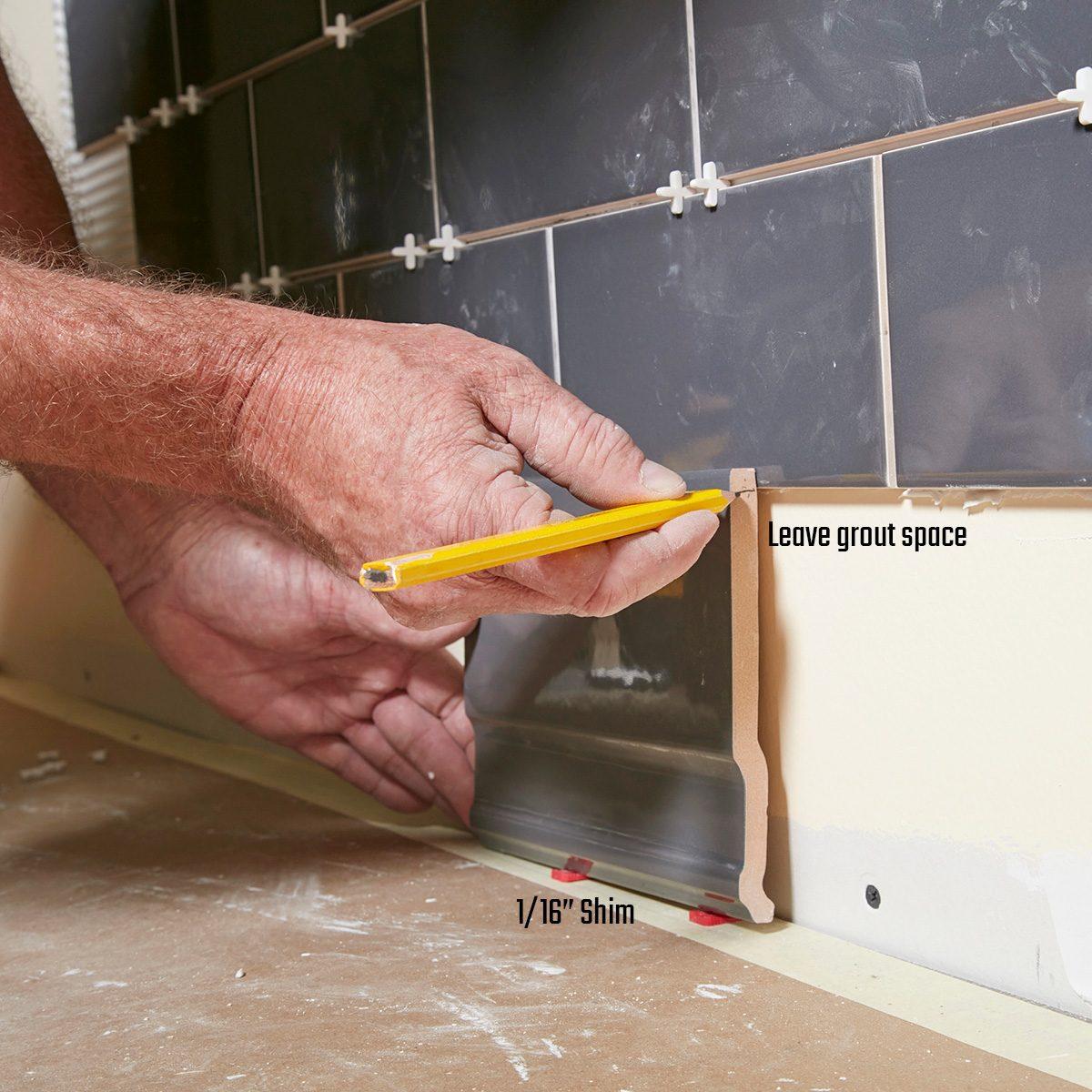 Mark the base tile