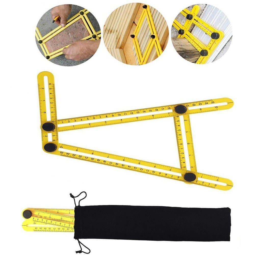 Multi Angle Measuring Tool Folding Ruler