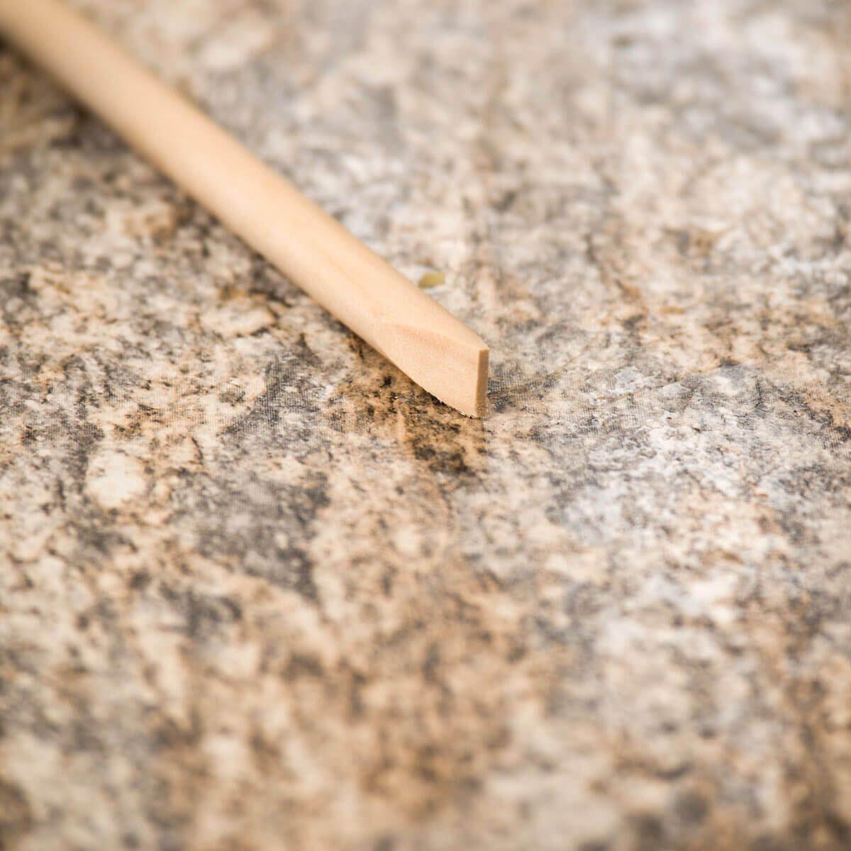 HH Sanded down dowel tip