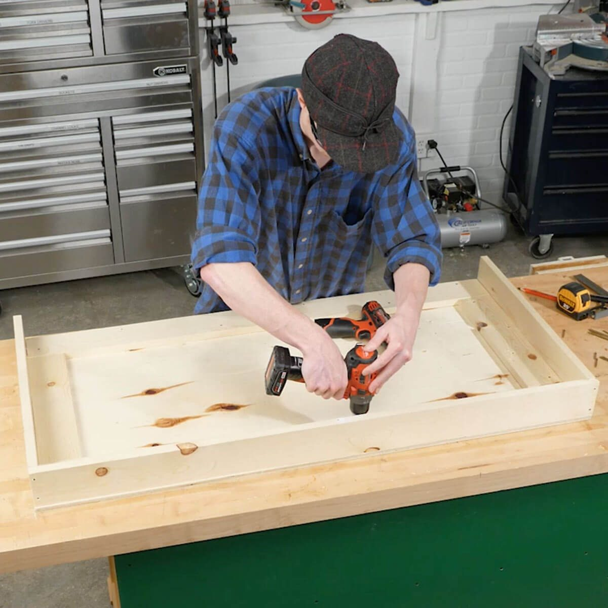 Fold Up Workbench Make Workbench