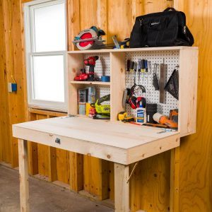Saturday Morning Workshop: How To Build a Fold-Up Workbench