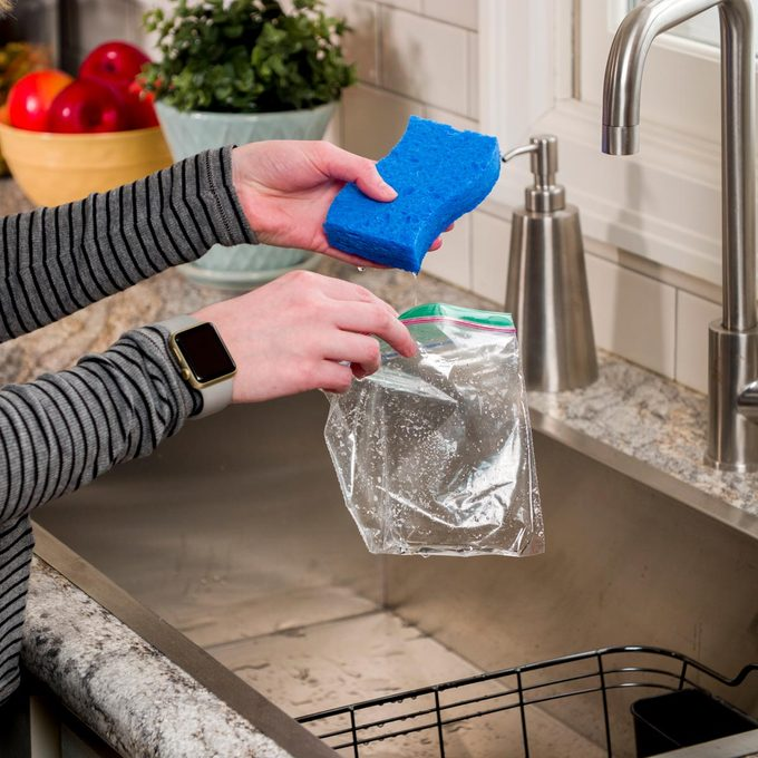 HH DIY Ice Pack Sponge make your own ice pack