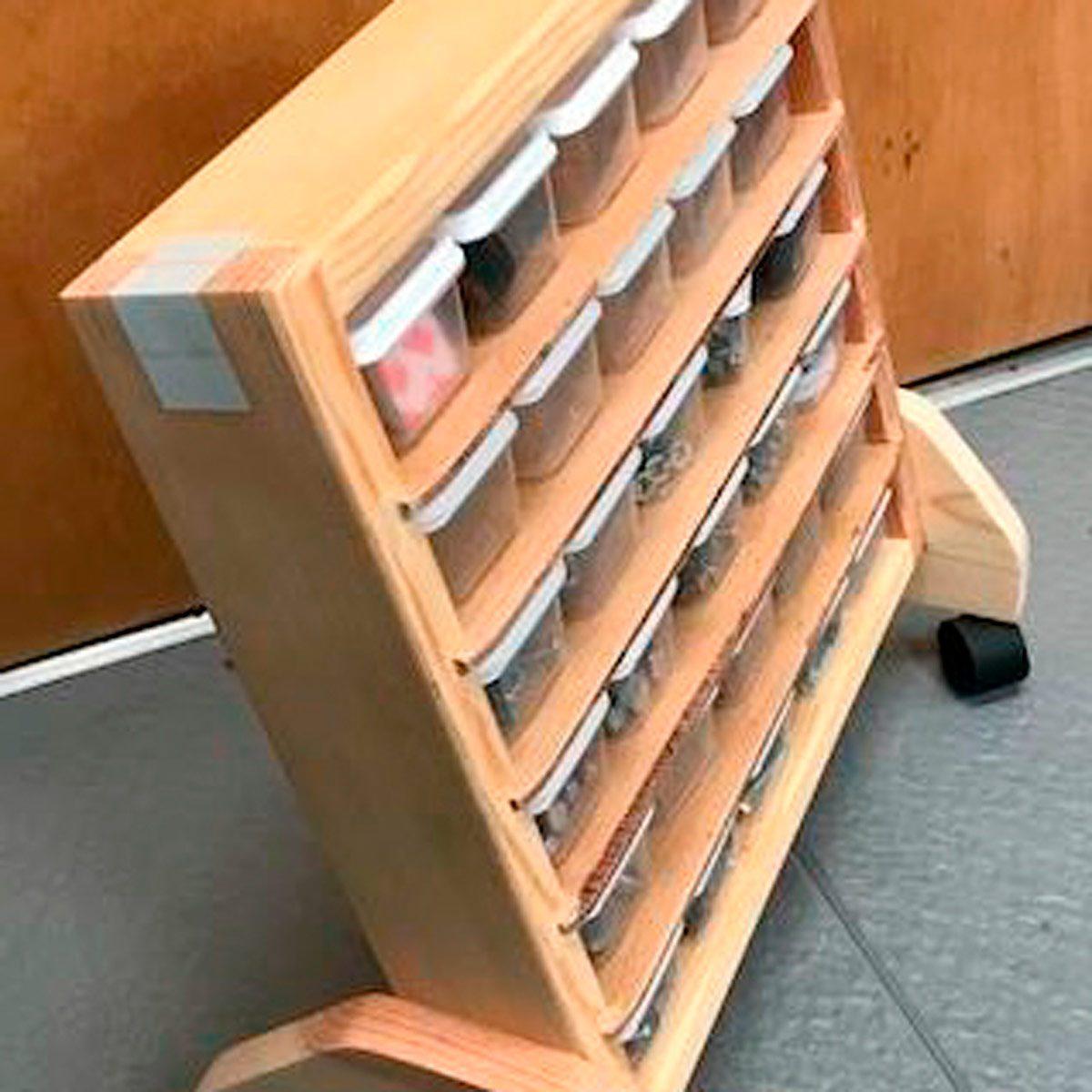 small portable storage unit