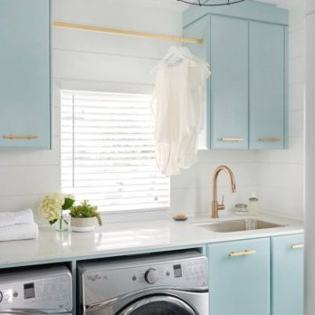 25 Cheap, DIY Laundry Room Ideas