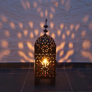 Moroccan-style light outdoor lighting
