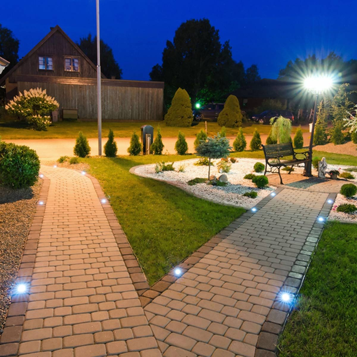 In-Ground Path Lighting
