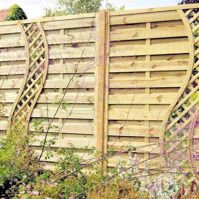 Climbers Wall Wood Fence