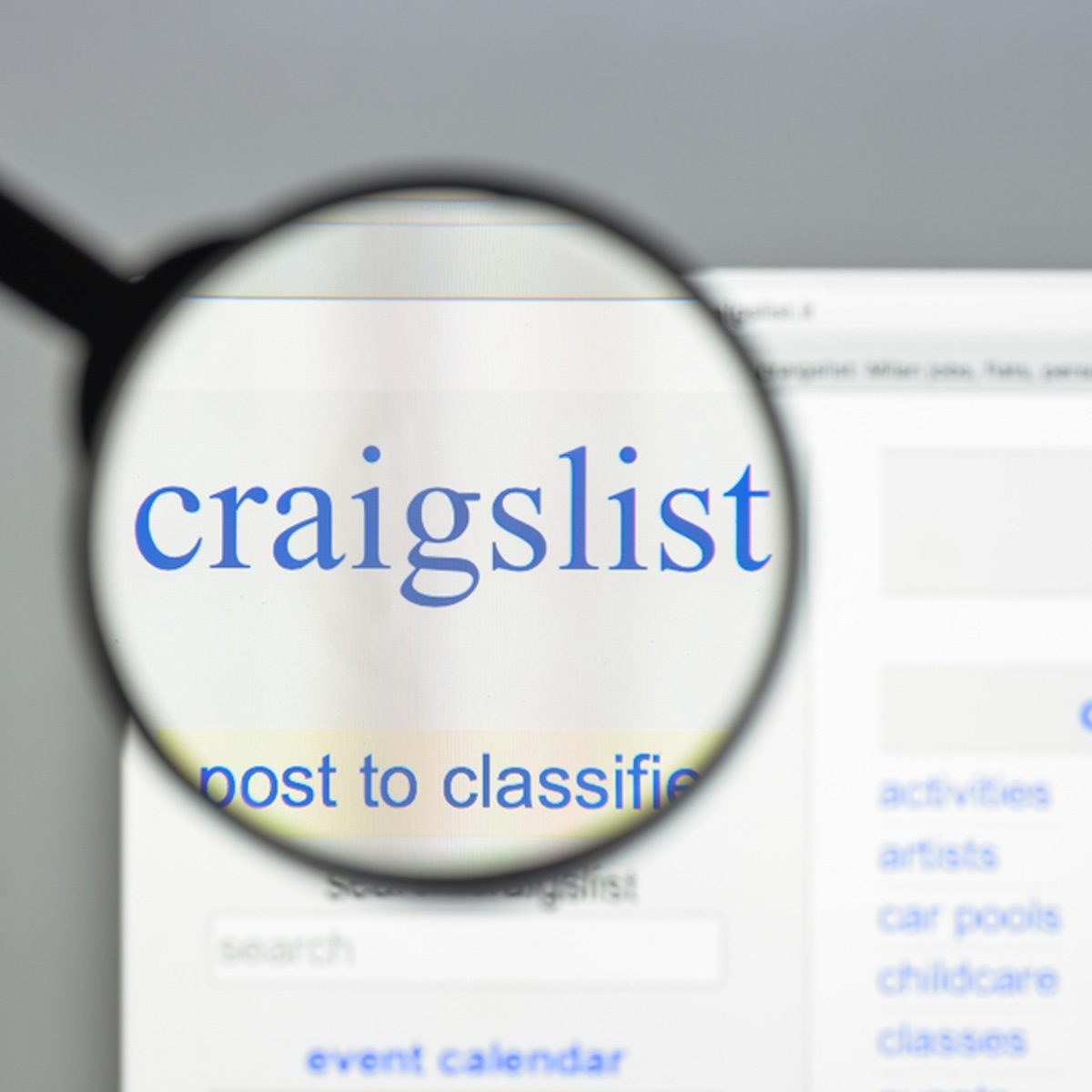 craigslist sell your stuff