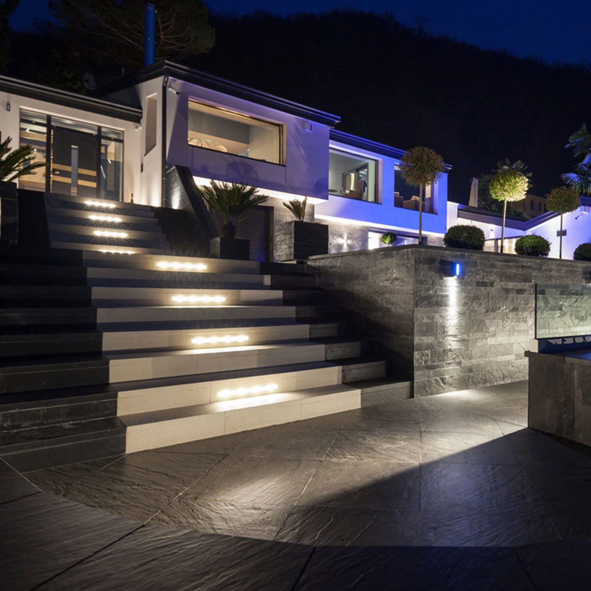 Outdoor LED Step and Path Lights