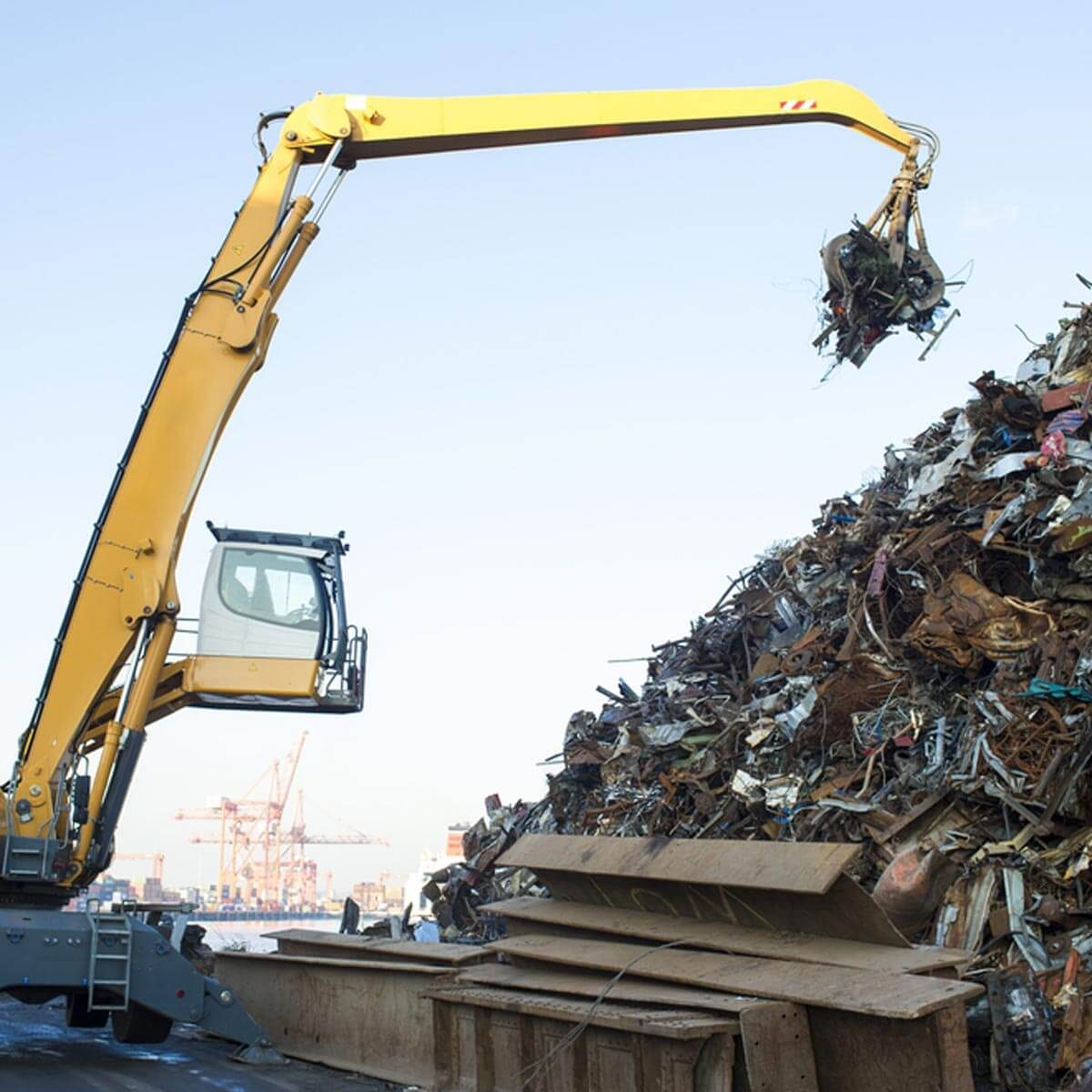Landfill Garbage Scrap metal
