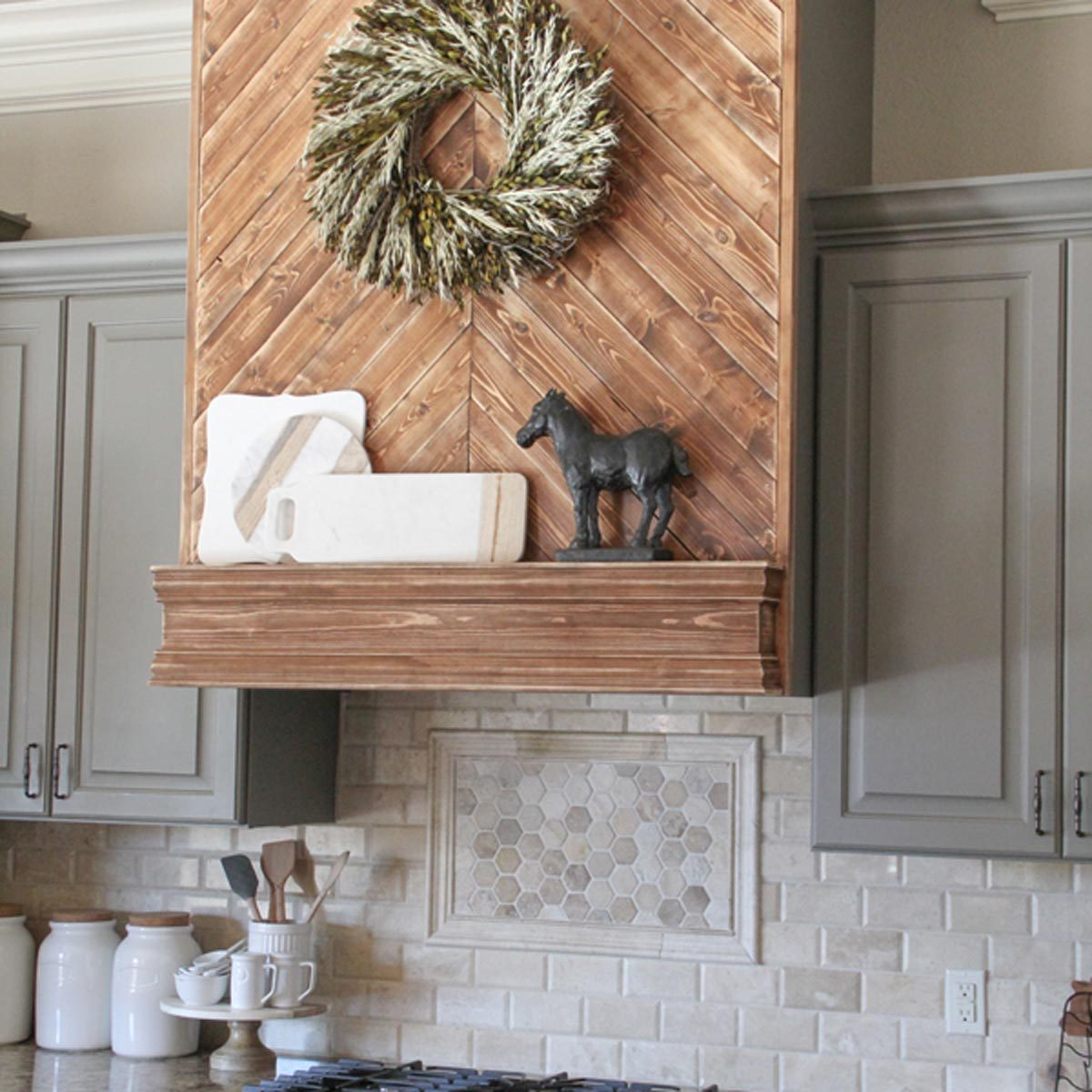 Creative Ways To Disguise A Range Hood Vent The Family