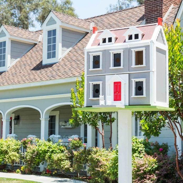 dollhouse birdhouse