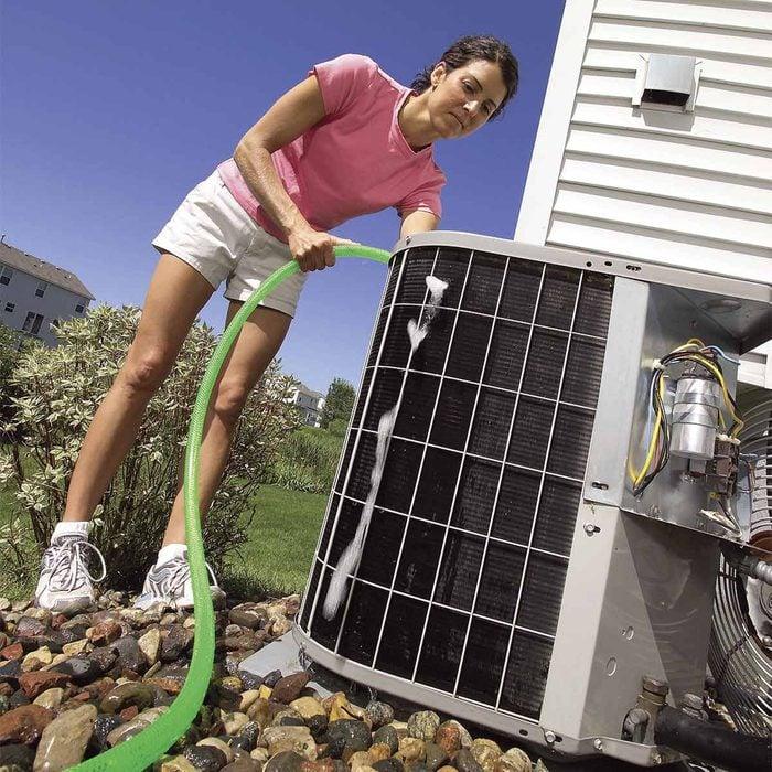 Clean Air Conditioner Condensers and Evaporators